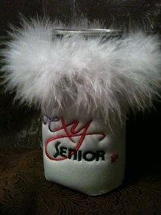 Personalized Sexy Senior Floozie Koozie!   Great Gift for Birthdays! #funnyt-shirts #etsyretwt