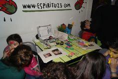 Taller de pintacaras en Malakids con la colaboración del espacio Espiritu-23