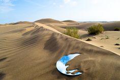 Shirin Abedinirad Installation Artwork- Evocation - Land Art #3.jpg