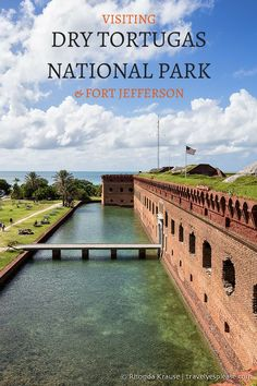 Visiting Dry Tortugas National Park and Fort Jefferson Florida Vacation, Florida Travel, Travel Usa, Key West Florida, Florida Keys, Fl Keys, Florida Beaches, Oh The Places You'll Go, Places To Travel