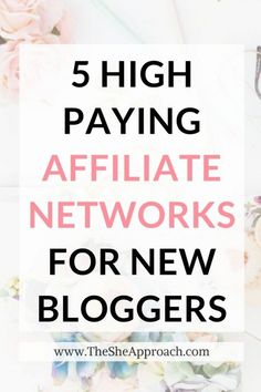 Are you serious about making money blogging and want to tap into affiliate marketing? Here are my top 5 high-paying affiliate programs recommendations for bloggers! Affiliate marketing tips for new bloggers. Affiliate strategy for newbies. Read all about it here. #bloggingtips #startablog