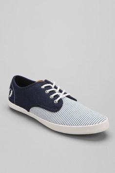 Fred Perry Foxx Seersucker Sneaker