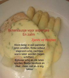 Botersaus voor bij asperges