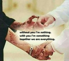 19 Trendy Tattoo Ideas For Couples Husband Wife Quote Husband Quotes From Wife, Husband And Wife Love, Muslim Couple Quotes, Muslim Quotes, Muslim Couples, True Love Quotes, Best Quotes, Islamic Love Quotes, Arabic Quotes