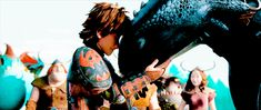 Toothless and Hiccup :D