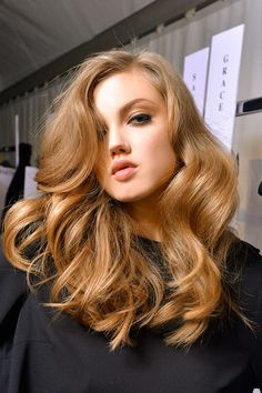 honey blonde, this might be my new color...hint hint Britt