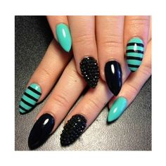 nails Stiletto! (Nails ❤ liked on Polyvore featuring beauty products, nail care, nail treatments, nails, makeup and nail art