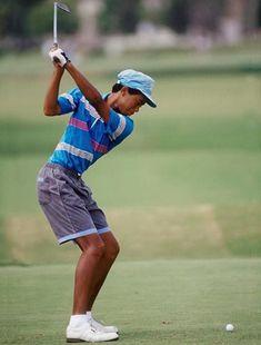 A young Tiger Woods KPJgolf.com