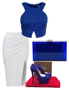 """""""Untitled #1401"""" by styledbycharlieb ❤ liked on Polyvore featuring Glamorous, Christian Louboutin and Charlotte Olympia"""