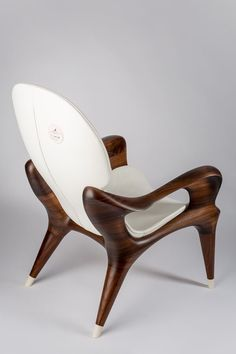 The last word in hand crafted opulence and extreme rarity. A modern and luxurious take on mid-century modern lounge seating. Unique Furniture, Furniture Decor, Furniture Design, Luxury Furniture, Woodworking Furniture, Fine Woodworking, Woodworking Joints, Woodworking Magazine, Woodworking Workbench