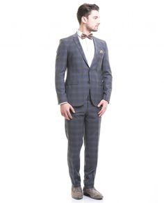 Toss Erkek Takım Elbise - İndigo #gentleman #suit #takımelbise #karaca #ciftgeyikkaraca   www.karaca.com.tr