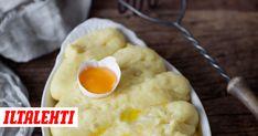 Tällä ruokatoimittaja Sanna Mansikkamäen ohjeella valmistat pikkuisen parempaa muusia. Mashed Potatoes, Breakfast, Ethnic Recipes, Food, Whipped Potatoes, Meal, Mashed Potato Resep, Eten, Meals