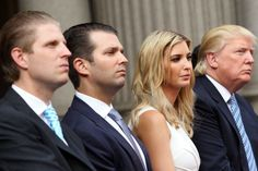 Children of Ivanka Zelnickova Trump...Ed, Donald Jr, Ivana and Donald Sr