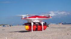 A Drone Lifeguard With a 3D Printed Mounting Platform — The Ryptide http://3dprint.com/50661/3d-printed-drone-lifeguard/