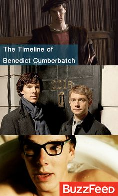 15 Photos That Prove Benedict Cumberbatch Is A Time-Traveling Shapeshifter