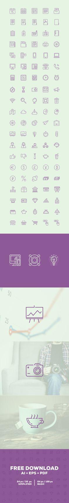 Free Icons | Puppets Icons | Ai + Eps + Pdf (5.3 MB) | puppetscientists.com