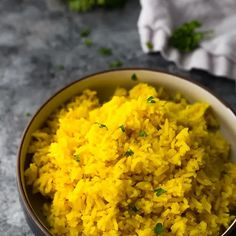 Tumeric And Ginger, Turmeric, Tumeric Rice Recipe, Yellow Rice Recipes, Cooking Basmati Rice, How To Boil Rice, Whole30 Dinner Recipes, Anti Inflammatory Recipes, Middle Eastern Recipes
