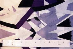 B&J Fabrics | Printed Silk Charmeuse