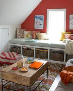 Westport Beach House - beach-style - Bedroom - New York - Bensonwood