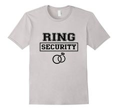 Ring Security Wedding (black) T-Shirt - http://www.css-tips.com/product/ring-security-wedding-black-t-shirt/ #affiliate
