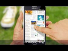 Samsung Galaxy Note.  5.3-inch phone with HD resolution.