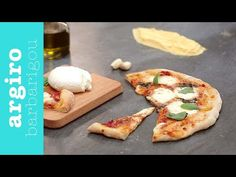 Βασική ζύμη για πίτσα από την Αργυρώ Μπαρμπαρίγου   Ετοιμάστε τη ζύμη που σας δίνω και φυλάξτε τη στην κατάψυξη. Έτσι θα την έχετε έτοιμη κάθε στιγμή! Greek Recipes, Baked Potato, Pizza, Cookies, Chicken, Baking, Breakfast, Ethnic Recipes, Food
