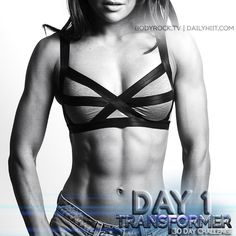 Day 1 is FINALLY here! Are you ready BodyRockers? Click to smash it out!