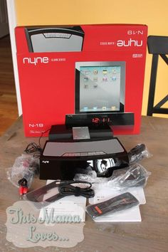 Enter to win a NYNE Docking Alarm Clock - high end, low profile