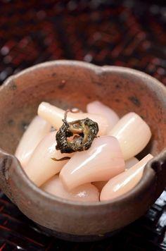 Japanese Pickled Baby Onion   Rakkyo らっきょ漬