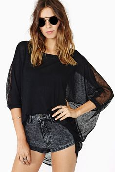 Sexy hollow out women shirt blouse
