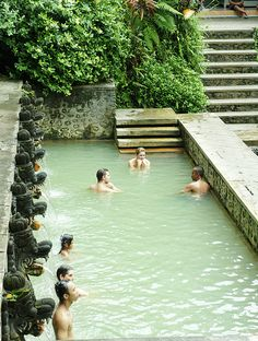 Bali, Lovina Tour, Hot spring I was there July 2013 Lovina Bali, Bali Tour Packages, Bali Holidays, Paradise Island, Bali Travel, Yellowstone National Park, Ultimate Travel, Holiday Destinations, Hot Springs