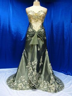 I love this gown so much. It reminds me of something a mermaid would wear.