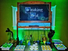 Setting the Mood: BREAKING BAD Series Finale Party