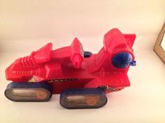1983 He-Man MOTU Attack Trak Vehicle Vintage Action Figure Toy Mattel