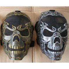 Full Skull Mask (Razor Blade Series)