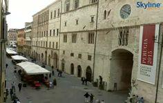 Live Cam Corso Vannucci in #Perugia. #Italy #Umbria #Travel #Livecam