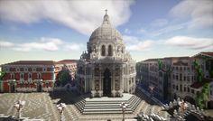 Minecraft Venice -Basilica di Santa Maria della Salute- Minecraft Project