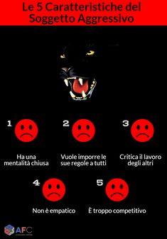 #Assertività: Le 5 Caratteristiche del Soggetto Aggressivo http://www.afcformazione.it/blog/assertivit%C3%A0-le-5-caratteristiche-del-soggetto-aggressivo