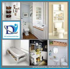 DIY And Household Tips: 47 Creative Storage Idea For A Small Bathroom Orga...