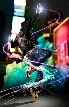 Street dance and effects