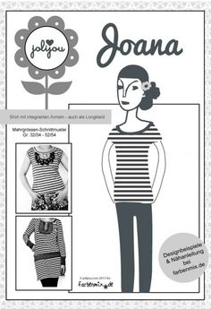 +♥+Joana,+Papierschnittmuster+♥+von+Mein+Stofflaedchen+auf+DaWanda.com