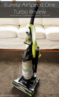 A great lightweight vacuum! Eureka AirSpeed One Turbo Review #shop #AirSpeedONE