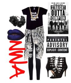 """""""Straight Outta Fabulous"""" by tianapurcell ❤ liked on Polyvore"""