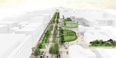 Re-Think Athens Winning Proposal / OKRA | ArchDaily