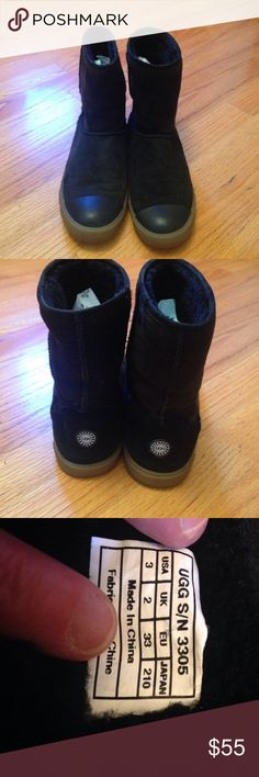 UGG limited edition Girls 3 Good condition.  Some wear. UGG Shoes Ankle Boots & Booties