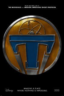 Tomorrowland. A new film from Disney. Not sure if I'm gonna want to see this 100% yet, but the premise looks interesting.