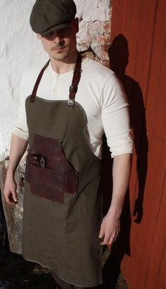 Roaring Mike - The Craftsman´s canvas & leather Apron: