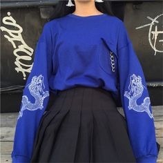 Promo Offer Poleron Mujer 2018 New Moletom Korean Style Harajuku Sweatshirts Dragon Embroidery Long Sleeve Sweatshirt Hoodie Women Hoodies Tumblr Outfits, Edgy Outfits, Mode Outfits, Fashion Outfits, Jeans Fashion, Fashion Clothes, Harajuku Mode, Harajuku Fashion, Kawaii Fashion