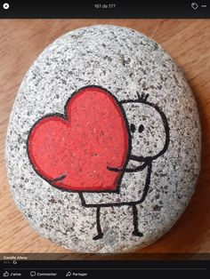 Rock Painting Patterns, Rock Painting Ideas Easy, Rock Painting Designs, Stone Art Painting, Pebble Painting, Pebble Art, Stone Crafts, Rock Crafts, Arts And Crafts