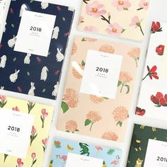 Planner/Diary Type : 2018 Diary (13 Months - Date printed, Dec-2017~Dec-2018). Diary comes with PVC Cover, 2 Decoration Sticker. We are happy to introduce Good quality Korean Stationery to you! Component : Intro 1P, Start 1P, Calendar 1P, Yearly Plan 2P, Monthly Plan 26P (13 Months), Weekly Plan 116P, Free Note 12P,Personal Data 1P /Total 160 Pages. | eBay!